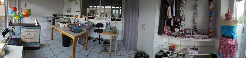 Panoramafoto werkplaats Kledingreparatie Soroo