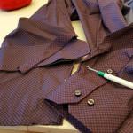 Kledingreparatie overhemd heren